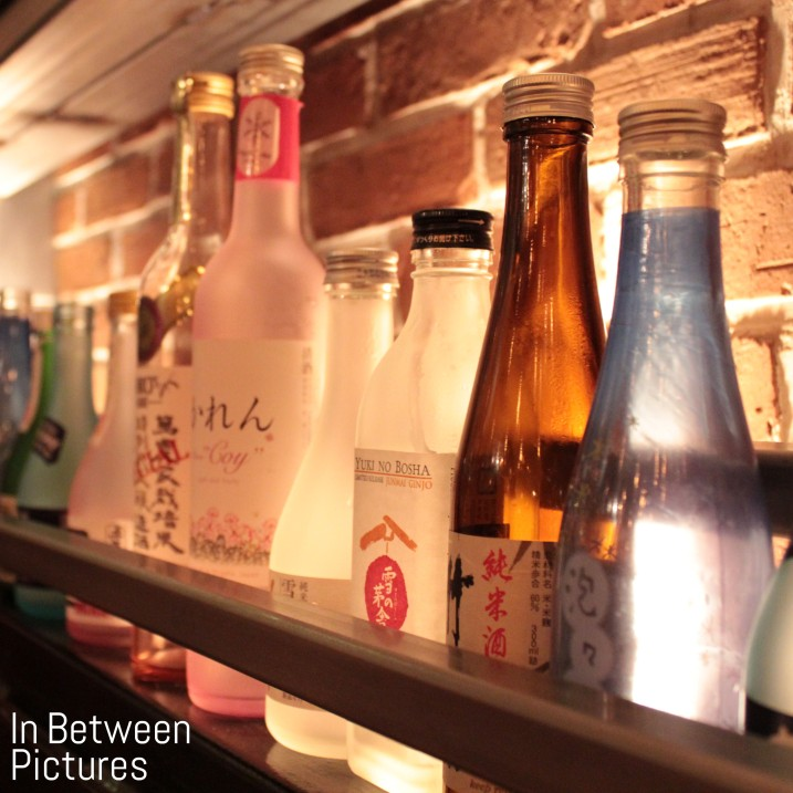 Empty Sake Bottles